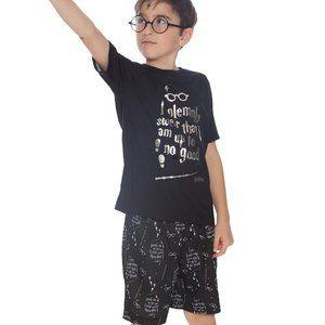 Harry Potter Solemnly Swear Shorts Pajamas NWT